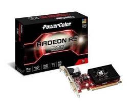 Placa de Video PowerColor Randeon R5 230 2GB, DDR3, AXR5 230