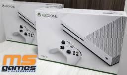 Xbox One S Branco 4k HDR 1TB de HD Lacrado com Garantia a Pronta Entrega