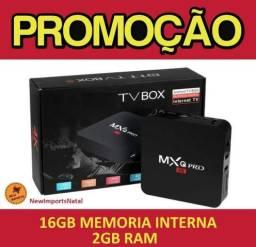 [Promoção] Aparelho Tv Box ( Mxq Pro ) 16gb Mem - 2Gb Ram