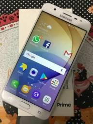 Galaxy J7 Prime Gold 32GB/3GB RAM - COMPLETO NA CAIXA NOVÍSSIMO