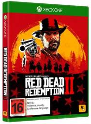 Xbox one 2 controles +jogo red dead redemption 2