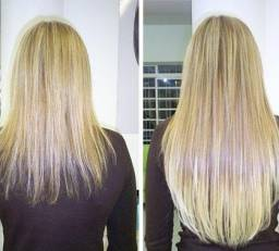 Mega com cabelo orgânico natural