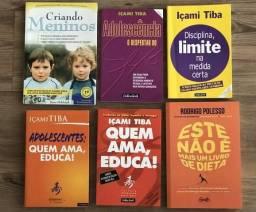 Lote com 6 livros usados em excelente estado