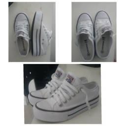 Tênis Converse Chuck Taylor All Star Platform - Branco