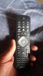 Controle fhilips para smart tv