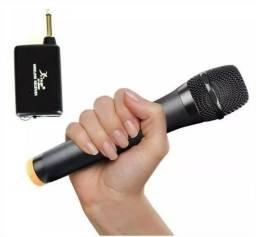 Microfone Knup Sem fio VHS- Palestras - Eventos - Igrejas - Youtuber - Novo