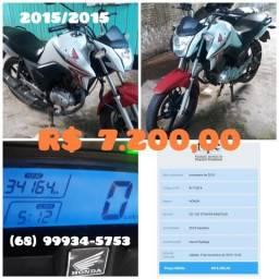 Moto Honda CG Tinta 150 - 2015