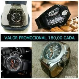 Relógios Multifuncional Clássico Luxuoso Com Valores Promocional