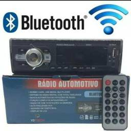 Rádio com Bluetooth e usb