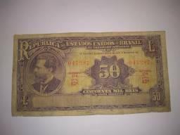 Tesouro nacional, 50 mil réis