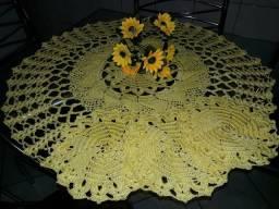Jogo toalhas de copa em crochê, 4 peças!