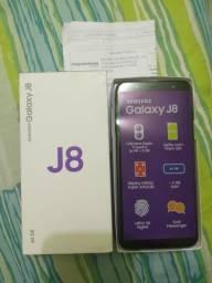GALAXY J8 64GB ZERO(Não é usado) c/NF garantia ac/CARTÃO