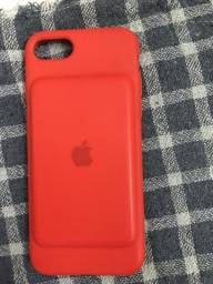 Case battery original para iPhone 7 (RED)
