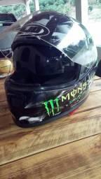 Oportunidade,capacete Helmets Monster energy