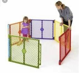 Cercado Infantil Com Porta North State Superyard + Extensão
