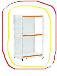 Rack premium - central e parede - lojas center aço