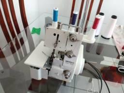 Máquina de costura overclock