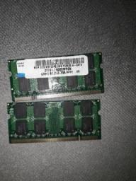 Memória DDR2 NOTEBOOK NETBOOK