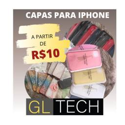 Capas para iphone a partir de 10 reais