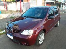 Renault Logan Expression 1.6 8v Flex Completo! Barbada! Repasse! Financia 100%