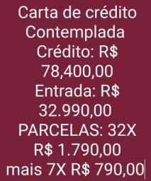 C.o.n.s.o.r.c.i.o C.o.n.t.e.m.p.l.a.d.o - Crédito de R$ 78.400