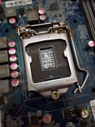 Placa mãe H61h2-m2, LGA 1155, DDR3