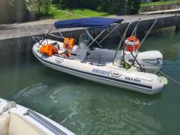 Bote inflável Remar - 15 pés - 115 hp