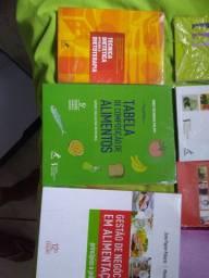 Livros de nutrição vendo o kit ou individual também