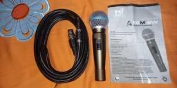 Microfone com fio TSI modelo novo