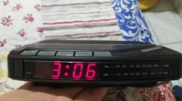 Rádio Relógio Despertador Semivox
