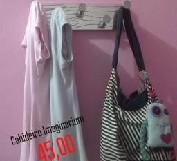 Cabideiro de parede usado, com formato de pregos da loja Imaginarium! comprar usado  São Bernardo do Campo