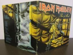Iron Maiden LP - piece of mind comprar usado  Guarulhos