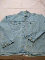 Jaqueta jeans masculina usada
