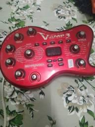 Pedaleira eletrônica VAMP3