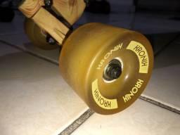 Skate Longboard Novo Rodas em Gel Nunca Usado