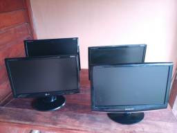 Monitores de 19 polegadas wide screen lote