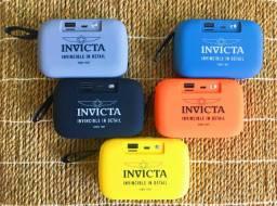 Caixa de som bluetooth com rádio Invicta