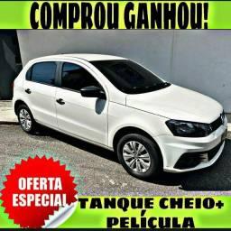 TANQUE CHEIO SO NA EMPORIUM CAR!!! GOL 1.0 ANO 2017 COM MIL DE ENTRADA