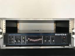 Cabeçote Amplificador para Contrabaixo Hartke Systems Ha 3500 com Case marca Fort-Case KGB