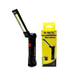 Mini Lanterna LED com Gancho BM-8500 Recarregável