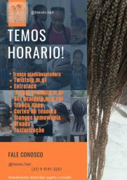 Cabeleireira trancista tranças nago box braid dreads wig corte afro e penteados