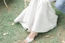 Sandália de noiva Santello - Tamanho 38