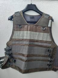 Colete Modular Cinza - Tamanho EXG - Marca Cia Militar - Novo
