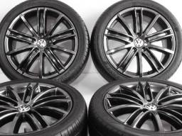 Título do anúncio: Rodas 18 Volkswagen R Line Exclusivas! Golf 7 Jetta Golf Variant Novo Fusca Audi A3