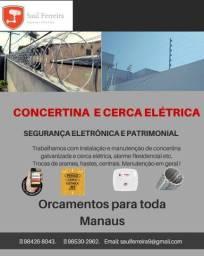 Título do anúncio: CERCA ELÉTRICA E CONCERTINA