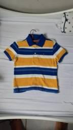 Camisa infantil Tommy Hilfiger 2 a 3 anos