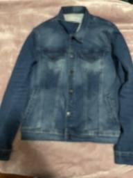 Título do anúncio: Jaqueta jeans Calvin Klein