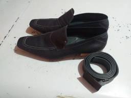 Título do anúncio: Sapato Jotape e cinto Kenneth Cole Reaction