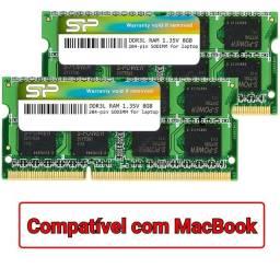 Memória RAM DDR3L 16GB 1600MHz (2x8GB) SODIMM