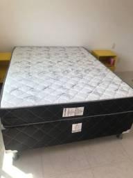 Título do anúncio: Vendo cama Box Novíssima espuma 100% poliester